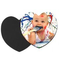 Керамичен Магнит със Снимка - Сърце