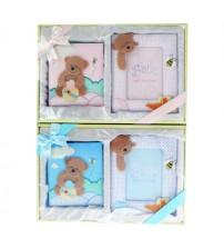 Фото Рамка и Албум - Комплект за Бебе - Meче