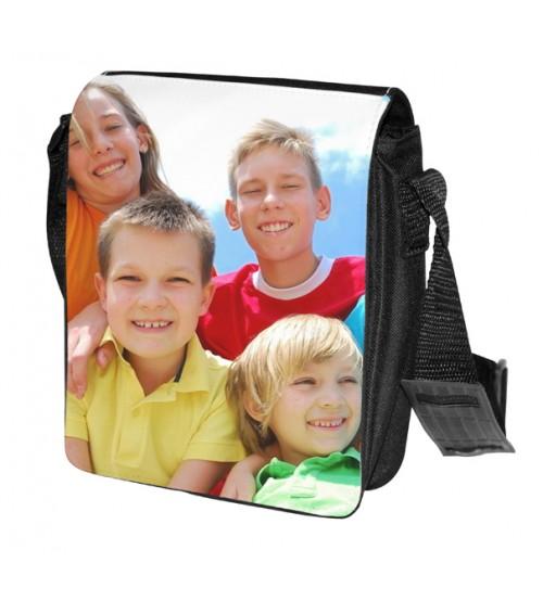 Черна Чанта за Рамо - Квадратна