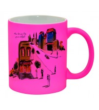 Цветни Матови Чаши - 4 Цвята