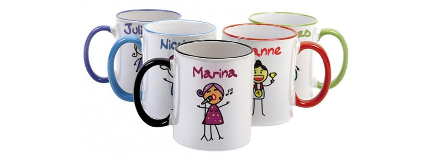 Чаши със снимка, надпис и фирмено лого