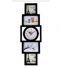 Часовник за 4 Снимки - Колаж