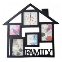 Часовник с 4 Снимки - Family