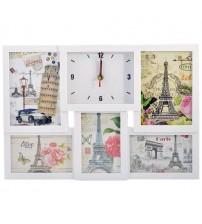 Часовник за 5 Снимки - Колаж