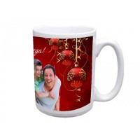 Коледна и Новогодишна Чаша със Снимка - 28 Модела