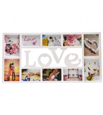 Фото Рамка за 10 снимки - LOVE