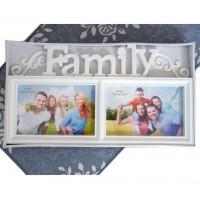 Фото Рамка за 2 Снимки - Family
