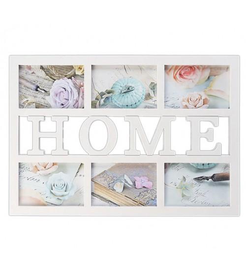 Фото Рамка за 6 снимки - HOME