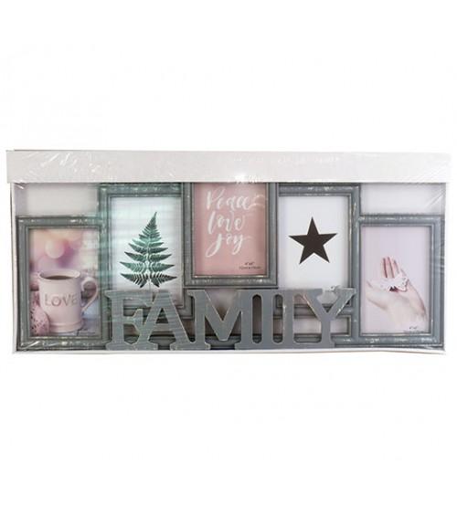 Фото Рамка за 5 снимки - Family