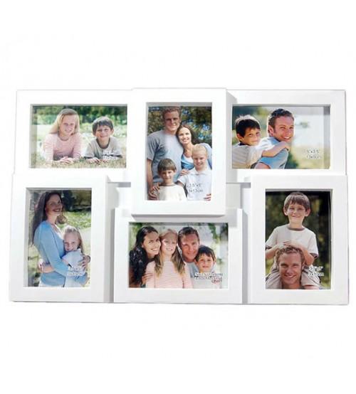 Стенна Фото Рамка за 6 снимки