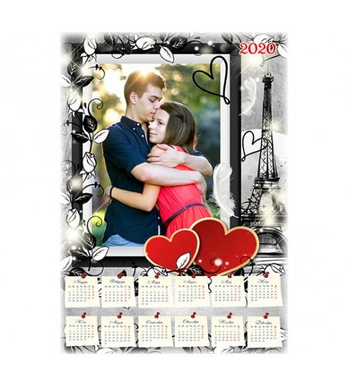 Еднолистен Календар със Снимка - 15 Модела