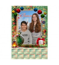 Еднолистен Календар с 1 Снимка - Новогодишен Звън