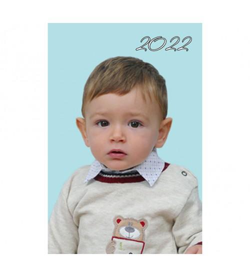 Джобен Kалендар с Една Снимка и Ламинат - 2022