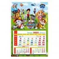 Работен Календар със Снимка - Пес Патрул