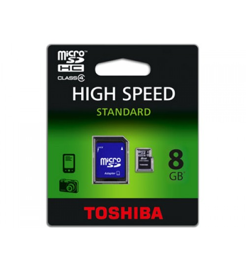 Micro SD Карта Памет Toshiba - 8GB
