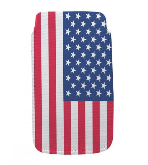 Калъф за смартфон - USA флаг