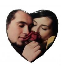 Скална Плоча със Снимка - Сърце
