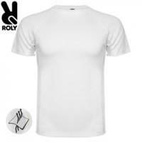 Мъжка Бяла Тениска със Снимка Roly