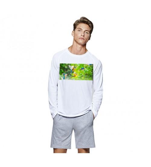 Бял Пуловер със Снимка
