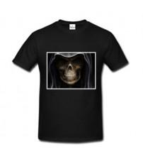 Черна Мъжка  Тениска със Снимка
