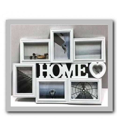 Фото Рамка за 7 Снимки - HOME
